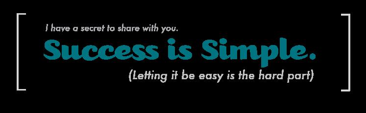 success-is-simple