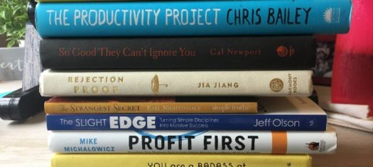 My Top 10 Books on Productivity, Income & Confidence