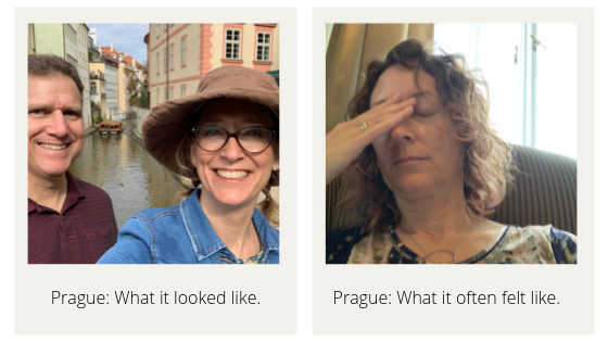Mary in Prague: What it looked like vs What it often felt like